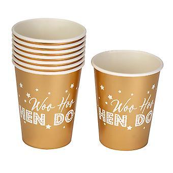 Woo Hoo Hen Do - Paper Cups