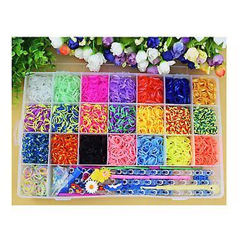 Gummibänder Refill Kit-sortierte Farben Loom Band