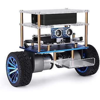 Tumbller önkiegyensúlyozó robot autókészlet kompatibilis Arduino, Stem Készletek Szár játékok gyerekeknek