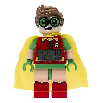 Lego Batman film Robin Minifiguren klok