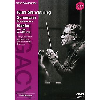 Legacy-Kurt Sanderling [DVD] USA import