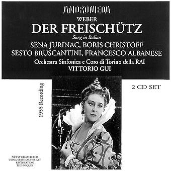Weber / Jurinac / Christoff / Bruscantini - Der Freischutz (Sung in Italian) [CD] USA import