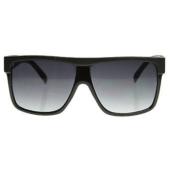 Designer inspiriert großen Flat Top Platz Kunststoff Pilotenbrille
