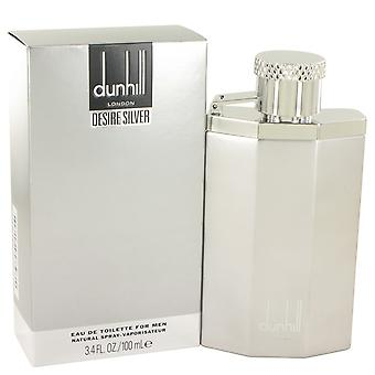 Dunhill wens zilveren Eau de Toilette 100ml EDT Spray