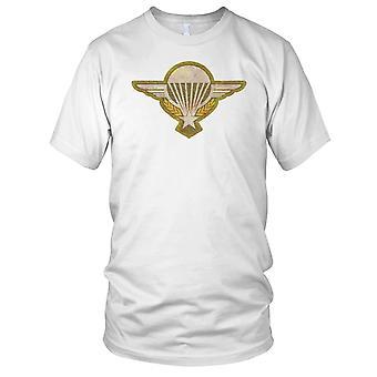 ARVN Airborne Parachute Wings Vietnam War Grunge Effect Ladies T Shirt