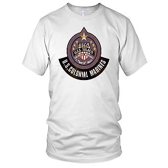 USCM USS Sulaco Colonial Marines Grunge Effect Kids T Shirt