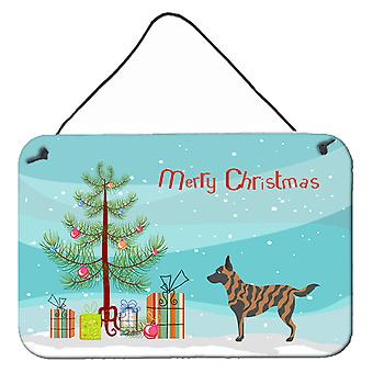 Dutch Shepherd Christmas Wall or Door Hanging Prints