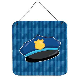 Carolines Treasures  BB7007DS66 Police Hat Wall or Door Hanging Prints