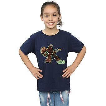 Star Wars Girls Chewbacca Character T-Shirt