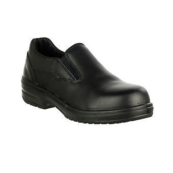 Amblers seguridad FS94C las señoras deslizar / zapatos de mujer