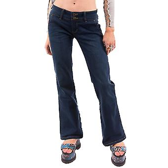 Bootcut Flared Hipster Denim Jeans