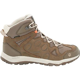 Jack Wolfskin Mens Rocksand Texapore Mid Light Waterproof Hiking Boots