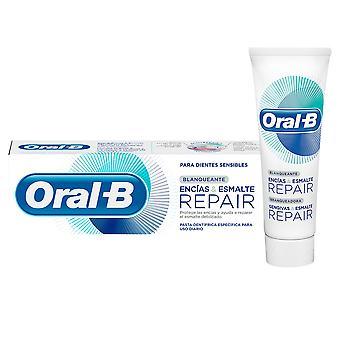 Oral-b Encias & Esmalte Reparation Blanqueante Pasta Dentífrica 75 Ml Unisex