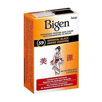 Bigen Powder Hair Color #59 Oriental Black