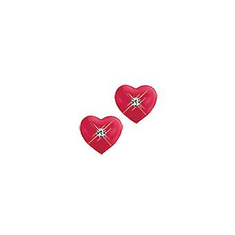 Scout ragazza di bambini Orecchini argento cuore rosso 262145100