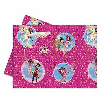MIA & me Elf Unicorn party tablecloth 120 x 180 cm 1piece children birthday theme party