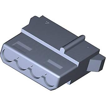 Cabina de zócalo de conexión TE - Número Total de MATE-N-LOK cable de pines 4 1-480424-0 1 PC
