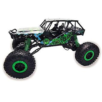 Amewi 22217 Crazy Crawler 1:10 RC model car for beginners Electric Crawler 4WD Incl. batteries and charger