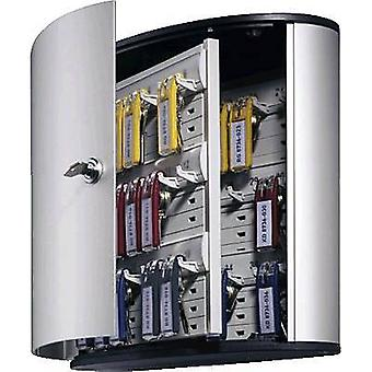 Kestävä avain kaapin avain laatikko 36-1952 1952-23 ei. koukut 36 hopea (metalli)