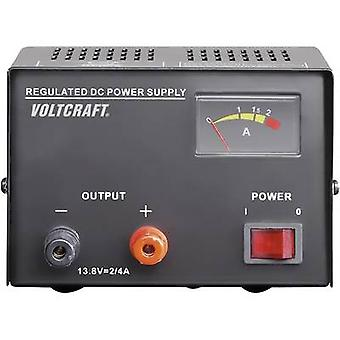 VOLTCRAFT FSP-1132 Bench PSU (fixed voltage) 13.8 V DC 2 A 30 W No. of outputs 1 x