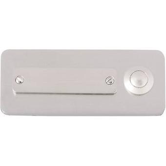 Heidemann 70121 Bell panel incl. nameplate 1x Stainless steel 24 V/1 A