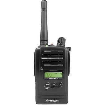 Albrecht Tectalk PRO XL 29786 PMR handheld transceiver
