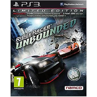 Ridge Racer Unbounded Limited Edition PS3 Spiel