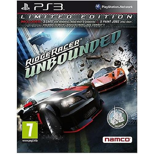 Ridge Racer Unbounded Limited Edition PS3 Game