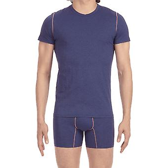 HOM Sport Waves T Shirt - Navy