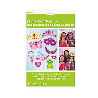 Unique Party Princess Photo Booth Props (Pack Of 10)