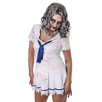 Bnov Zombie Lady parrucca ondulato