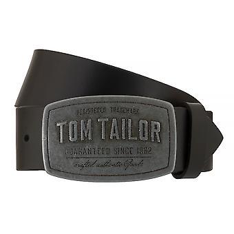 トムテイラー ベルト革ベルト メンズ ベルト ジーンズ ベルト黒 7657