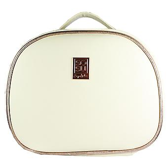 Vanity Case in White & Rose Gold by SOSUbySJ