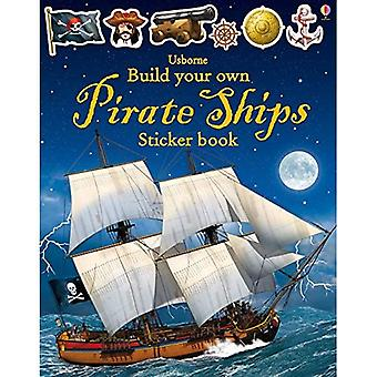 Build Your Own Pirate Ship Sticker Book (Build Your Own Sticker Books)