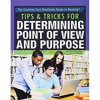Conseils astuces & pour déterminer le Point de vue et le but (Core commune Readiness Guide de lecture)