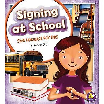 Ondertekening op School