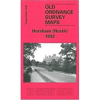 Horsham (North) 1932: Sussex Sheet 13.08