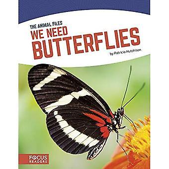 We moeten vlinders