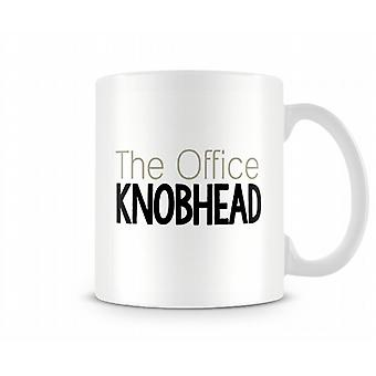 O escritório Kn * * cabeça caneca