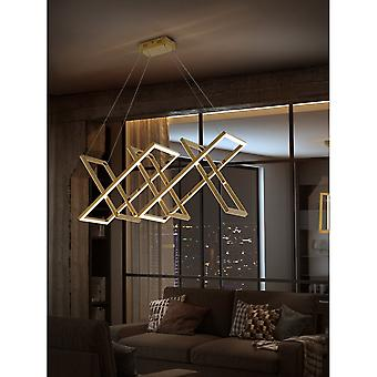 Schuller Limus Modern Polished Gold LED Island Ceiling Lamp