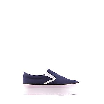 Jeffrey Campbell Ezbc132038 Femmes-apos;s Blue Fabric Slip On Sneakers