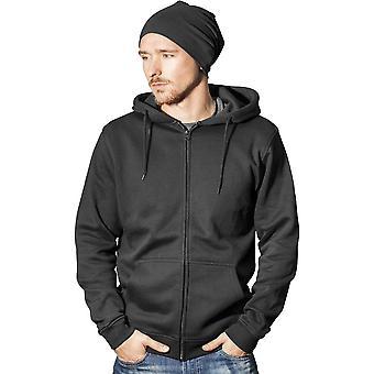 Cotton Addict Mens Heavy Full Zip Cotton Hoodie Jacket