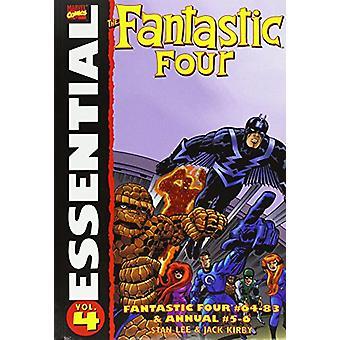 Essential Fantastic Four - Volume 4 by Stan Lee - Jack Kirby - 9781905