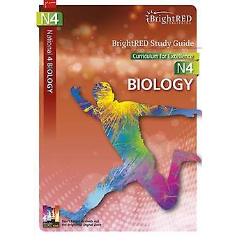 BrightRED Study Guide National 4 Biology - N4 by Margaret Cook - Fred