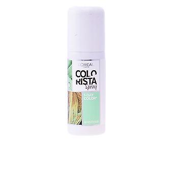 L'Oreal Make Up Colorista Spray #3-mint 75 Ml Para Mujeres