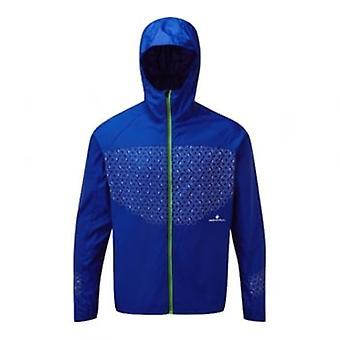 Ronhill momentum Sirius mens Running jas blauw