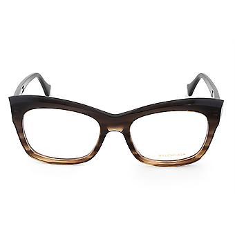 Balenciaga BA 5069 050 52 إطارات نظارات نظارات القط مستطيلة