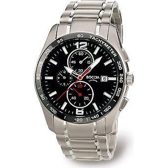 Boccia Titanium 3767-02 Miesten Watch