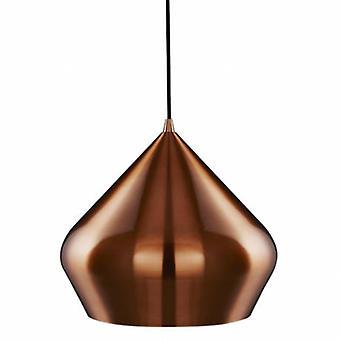 1 Licht Kuppel Deckenanhänger Kupfer