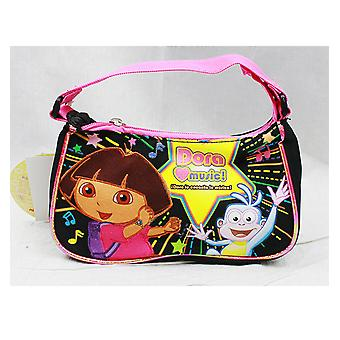 Handbag Dora the Explorer Dora Love Music Hand Bag Purse Girls de21478
